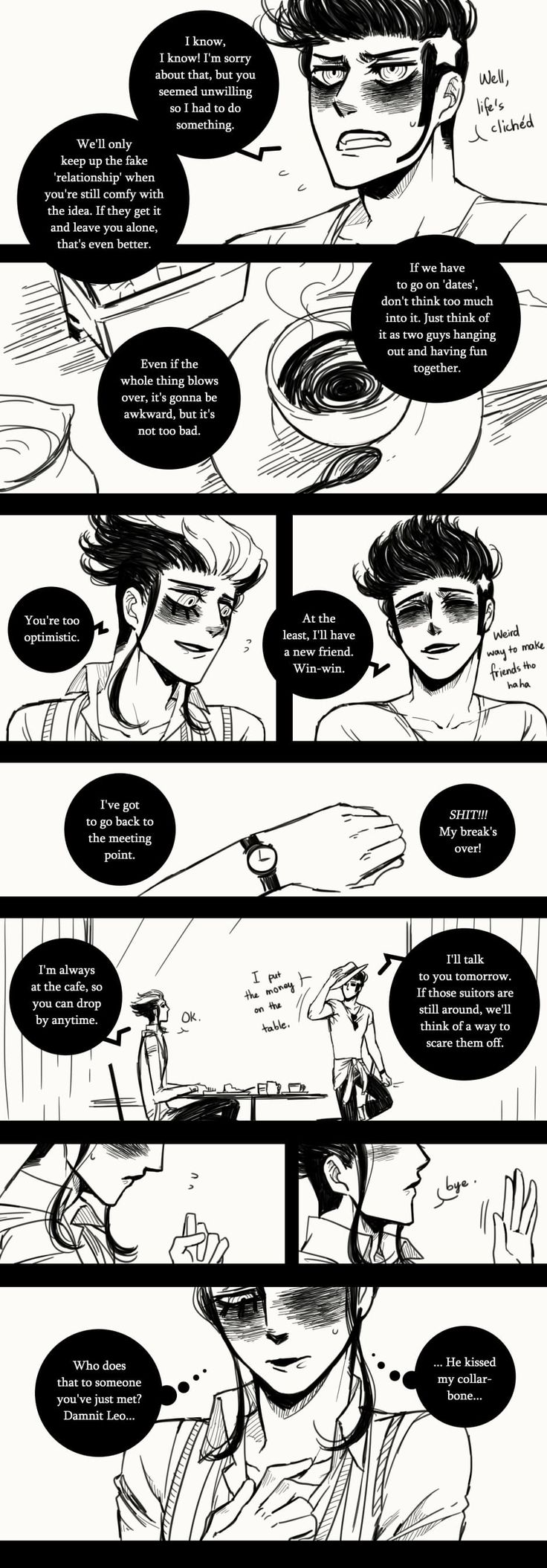 A Matter of Life and Death :: Special Episode: 1 Year Anniversary (Part 2) | Tapastic Comics - image 7