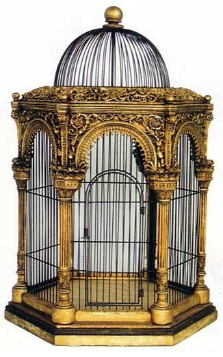 PCC Clay Featured Artists - Sue Heaser s Victorian Birdcage 1 If this was bigger it'd be amazing!