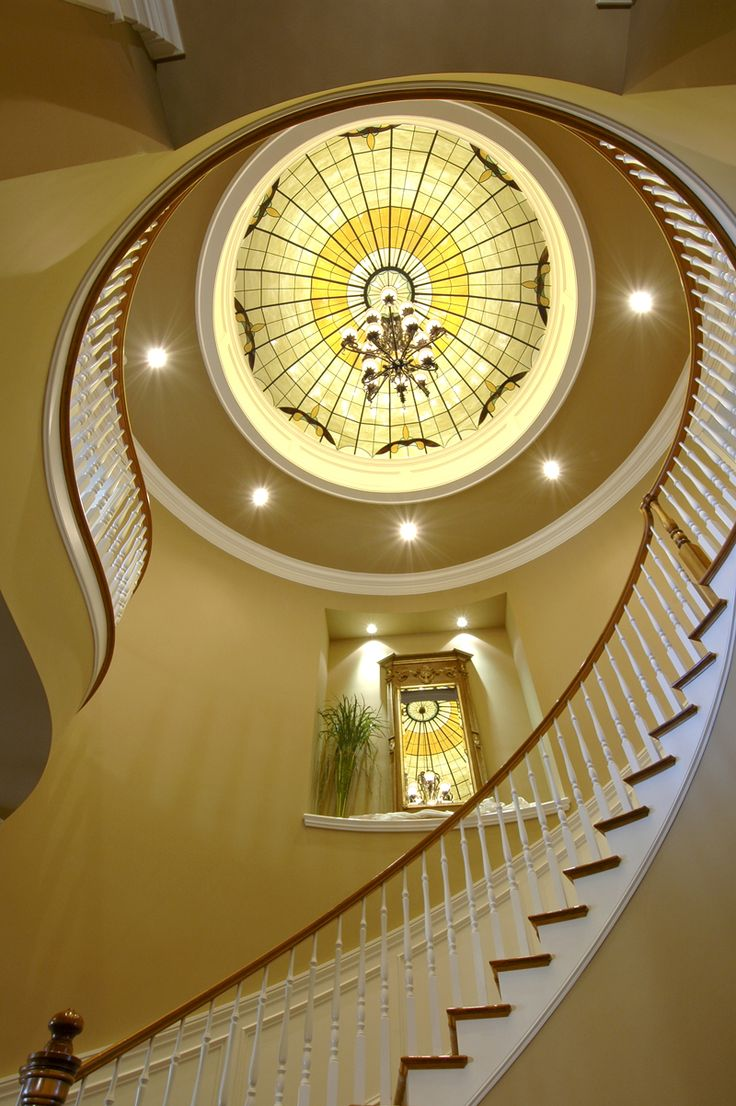 Home plans with splendid staircases 10 handpicked ideas for Www houseplansandmore com