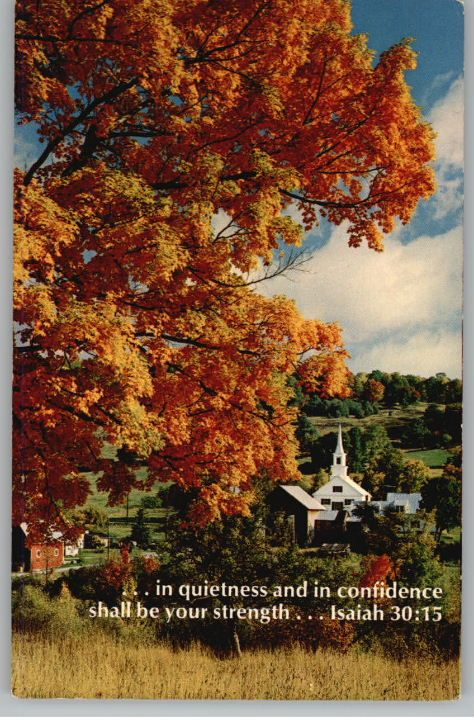 autumn pictures with scripture quotes | Postcard-Autumn ...