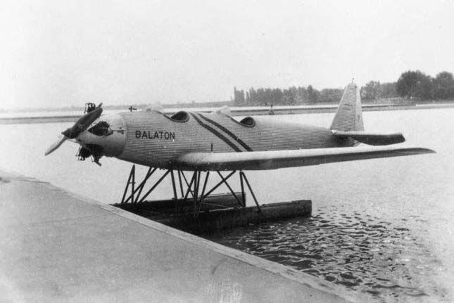 1930. Junkers hidroplán, Siófok