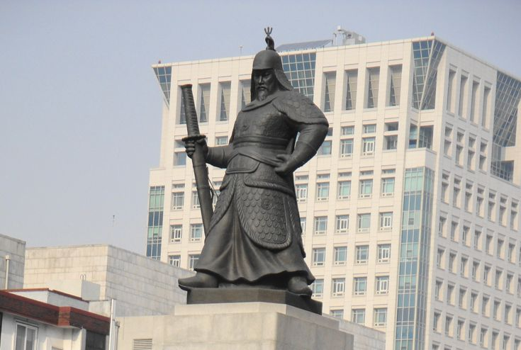 Yi Sun-Sin Statue at Gwanghwamun Square