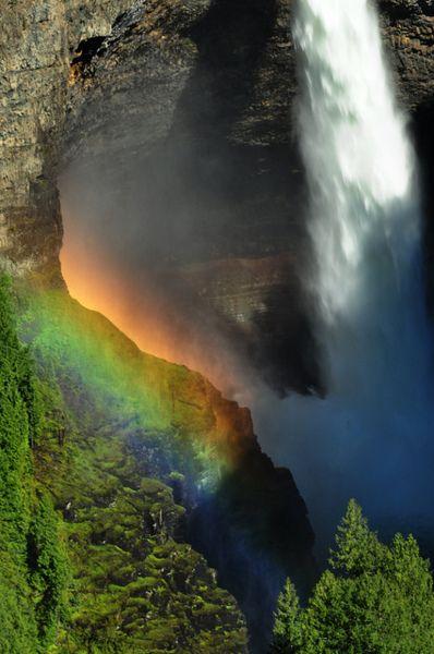 Rainbow Mountain Falls