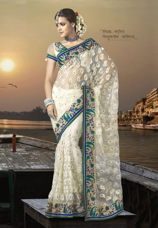 Indian sari.