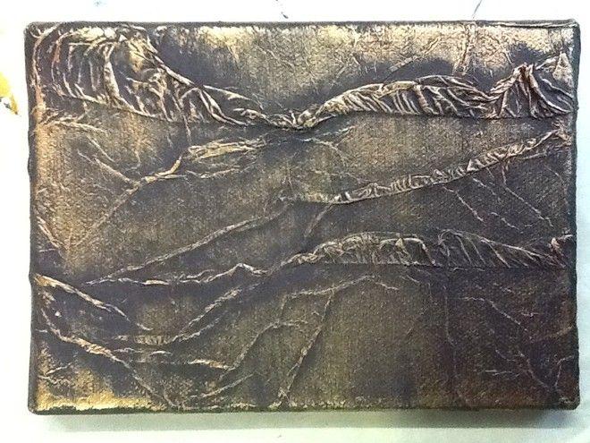 (¯`'•.ASTRATTO.•'´¯) quadro dipinto a mano moderno, 13x18 cm