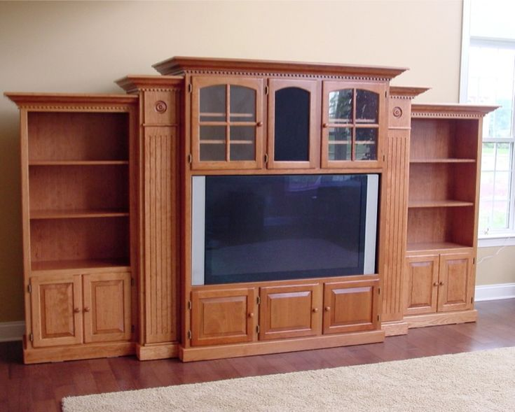 24 best images about cabinet ideas on pinterest modern for Large tv wall units