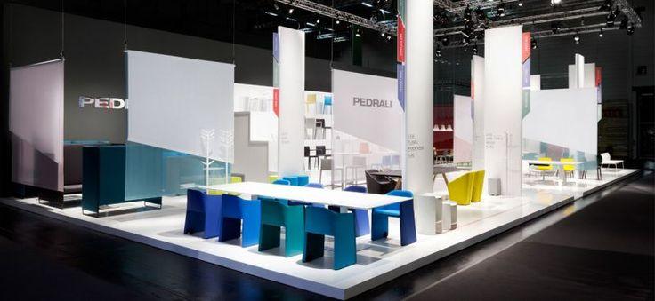 Pedrali Spa - Fiera ORGATEC - Colonia (DE) - Krea realizzazione allestimento e grafica stand, progetto Studio Migliore+Servetto.