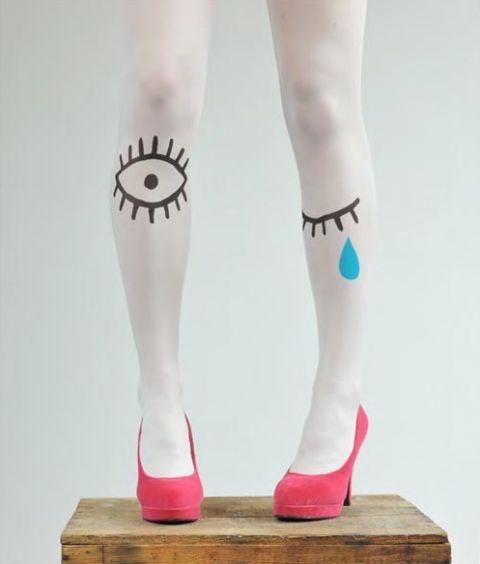 like: Leg, Idea, Fashion, Style, Sardines, Polly Tights, Eye