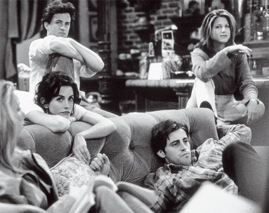 Friends in production, June 1, 1995.