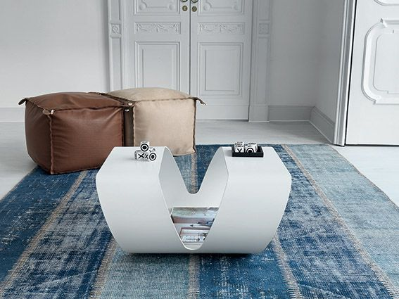 Ring coffee table, available also with only the shape of the base. #creative #design