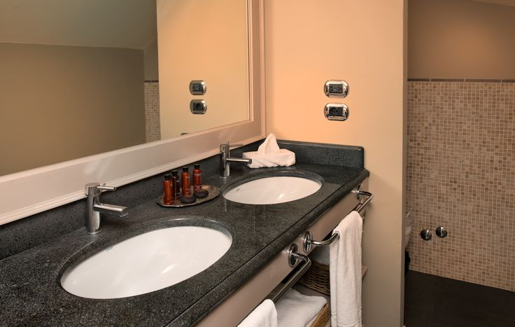 Bathroom of new suite
