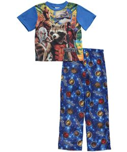 """Guardians of the Galaxy Big Boys' """"Space Defenders"""" 2-Piece Pajamas (Sizes 8 - 20) $16.99 Any fan of Guardians of the Galaxy is sure to love these action-packed pajamas!"""