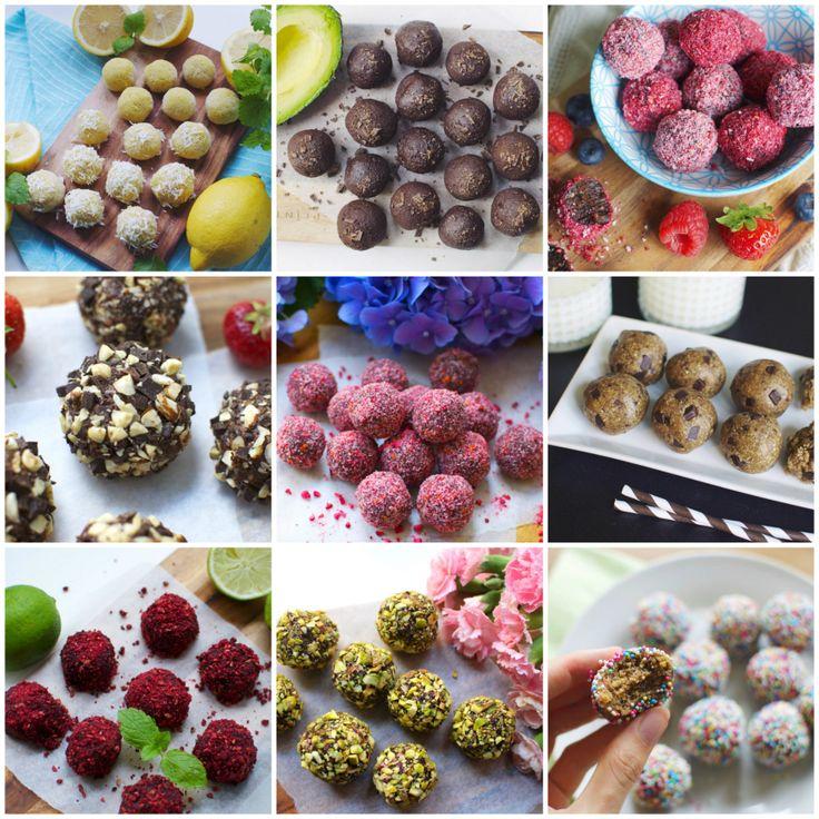 My 16 favorite bliss- & dessert ball recipes – updated version