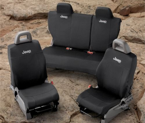 Jeep Patriot Accessory - Mopar OEM Jeep Patriot Front and Rear Seat Covers