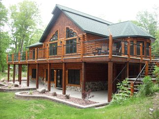 Kemps Lake House on Portage Lake - our summer rental in the U.P.