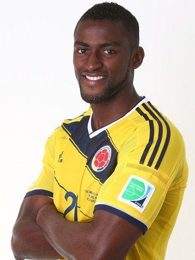 Las fotos oficiales de #Colombia #Fifa #Brasil2014 - Jackson Martinez