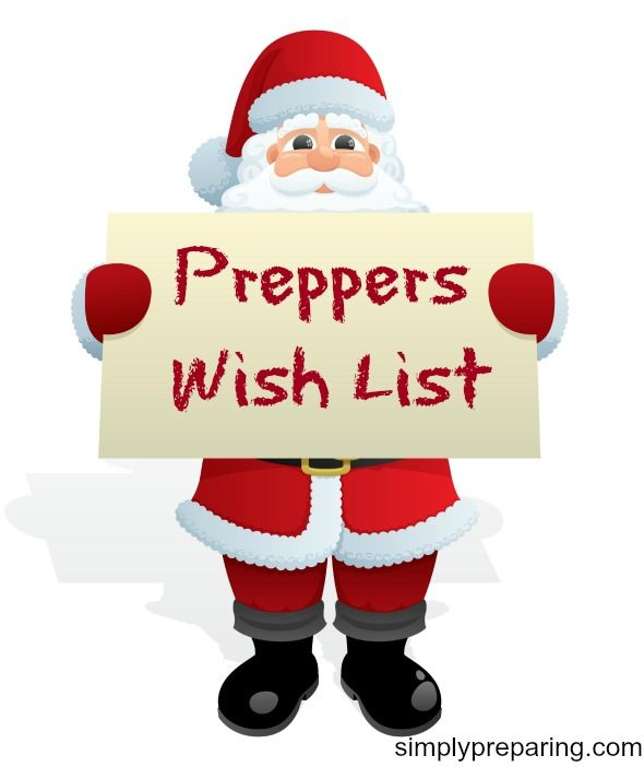 Preppers wish list of items to buy for the holidays or anytime of year a gift is needs. Idea's for putting together Bug Out Bag and larger preppers items.