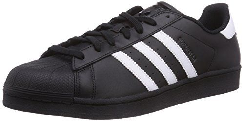 adidas Originals Superstar Foundation B27140, Herren Low-Top Sneaker, Schwarz (Core Black/Ftwr White/Core Black), EU 40 - http://on-line-kaufen.de/adidas-originals/40-eu-adidas-superstar-foundation-unisex
