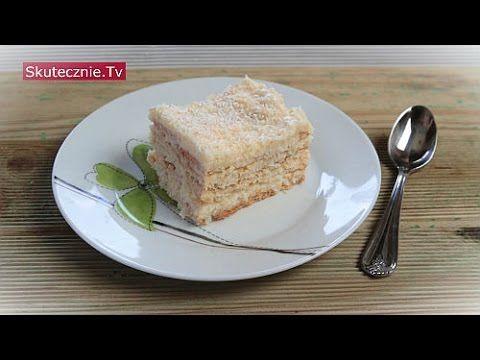 Ciasto kokosowe. Rafaello bez pieczenia :: Skutecznie.Tv [HD] - YouTube