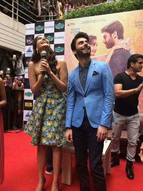 """Pakistani actor Fawad khan for his up coming bollywood film """"khoobsurat"""""""