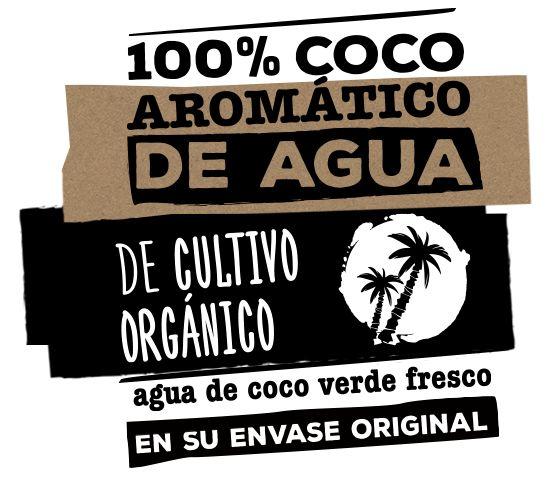 #GenuineCoconut | #AguadeCoco en su envase original de cultivo orgánico