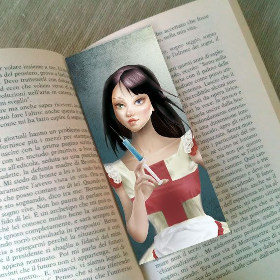 "Bookmark ""EVELYN  (Cameo Portrait)"""