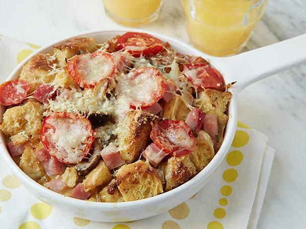 Ham and Cheese Breakfast Casserole  #RecipeOfTheDay #FNMag