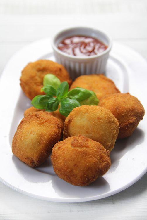 Unos deliciosos #nuggets de pollo caseros. Una #receta llena de sabor y con #SalsaBarbacoa
