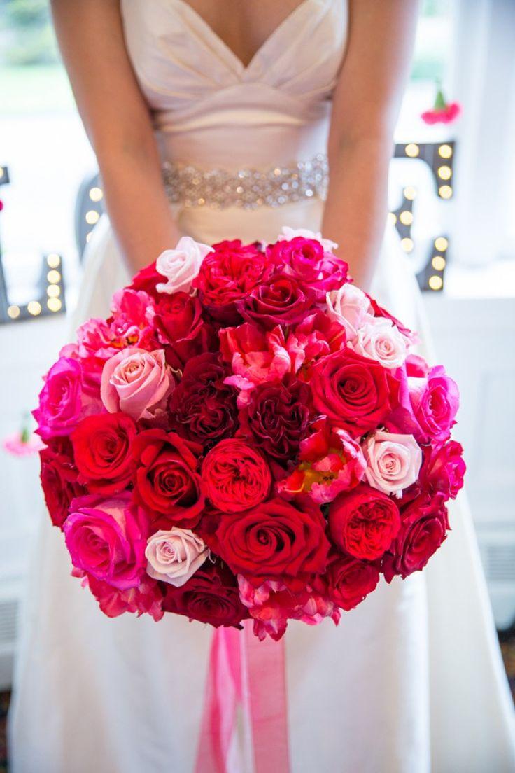 Pink Ombre Floral Wedding Inspiration | Styled Shoot - KnotsVilla