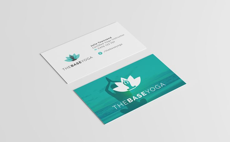 Latest from the Portfolio:  Logo and Identity Design for The Base Yoga