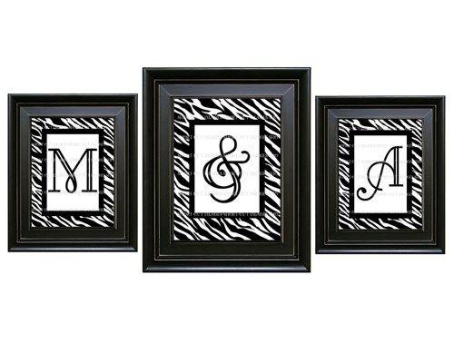 Zebra Print Wall Decor    | ShortCutImages - Furnishings on ArtFire