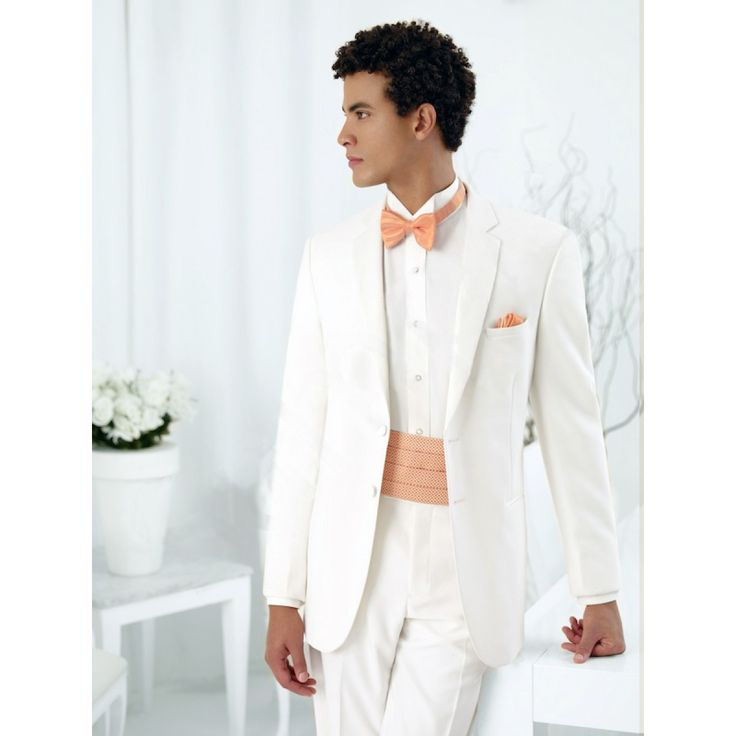 Ivory Tuxedo by Jean Yves - 2 Button with Notch Lapel | Prom ...
