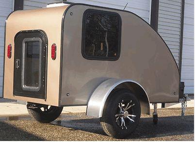 camper motorcycle trailer