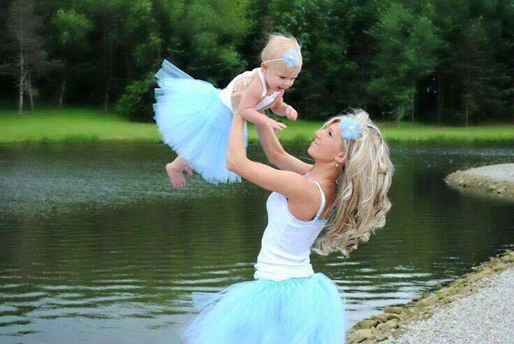 O Lado de Cá: Mamãe e filhinha vestidas iguais!