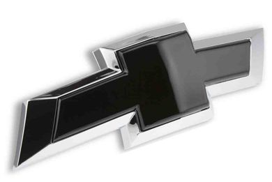 2007 - 2013 Silverado Rear Insert Black Bowtie Emblem