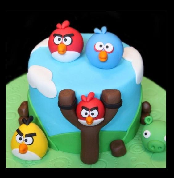 15 Best Eli Bday Images On Pinterest Angry Birds Cake Bird Cakes