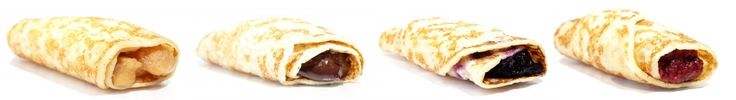 In2Food's authentic Belgian Crepes are perfect for breakfast, lunch, snack, or dessert and come in Apple, Belgium Chocolate, Blueberry, and Raspberry.