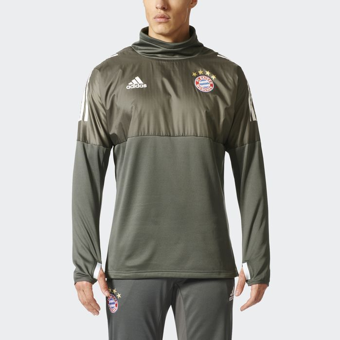 adidas FC Bayern Munich UCL Hybrid Top - Mens Soccer Jackets
