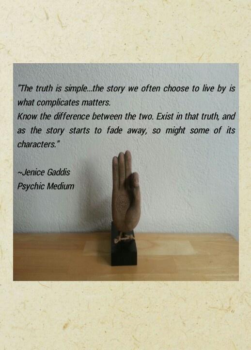 Quote By Jenice Gaddis Psychic Medium Inspireme Pinterest
