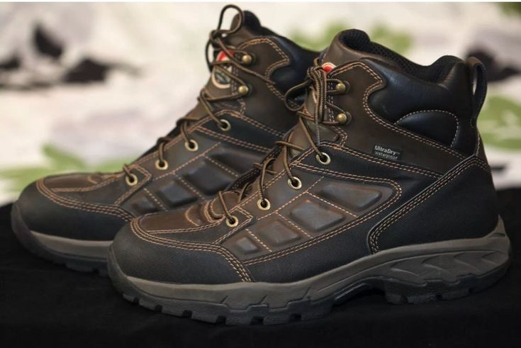 Red Wing Boots Irish Setter Work Hiking UltraDry Waterproof Ely 83400 Mens 10.5 #RedWingShoes #HikingTrail