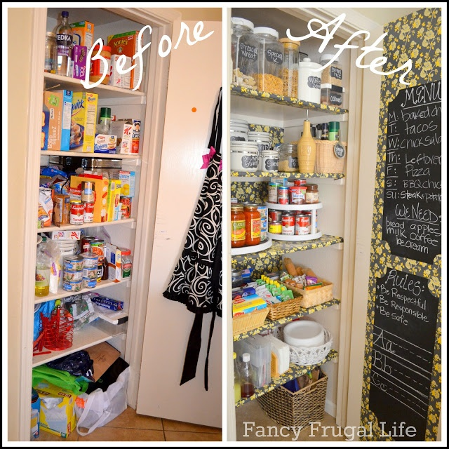 Organized Kitchen Before And After: 484 Best Images About PANTRY LOVE On Pinterest