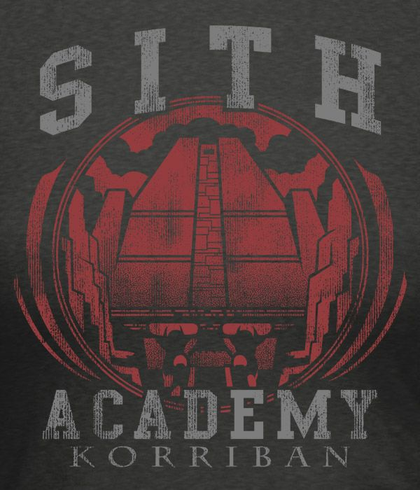 J!NX : Star Wars: The Old Republic Sith Academy Women's Tee - Clothing Inspired by Video Games & Geek Culture