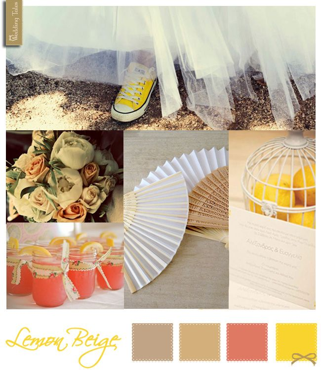 Wedding Moodboard | Lemon Beige