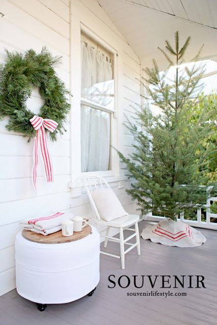 French Farmhouse Christmas by Souvenir Lifestyle | Dreamy Whites