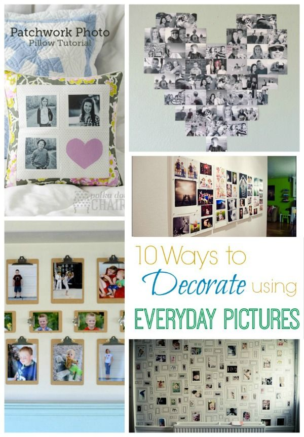 Today I have rounded up 10 great ways to display said photos and get them off your phones and on to your walls!