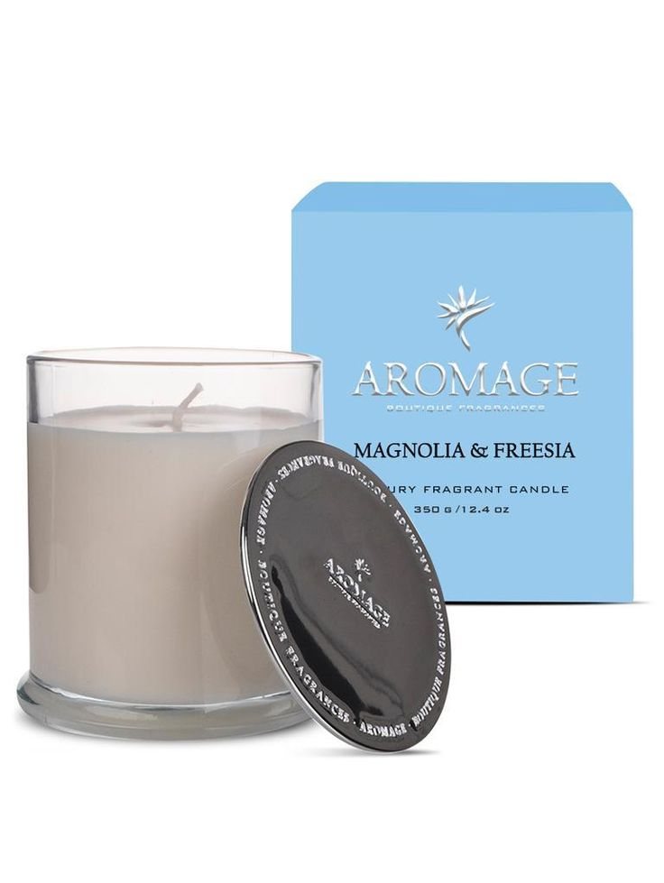 Aromage Luxury Fragrant Candle - Magnolia & Freesia