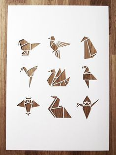 origami birds - Google Search