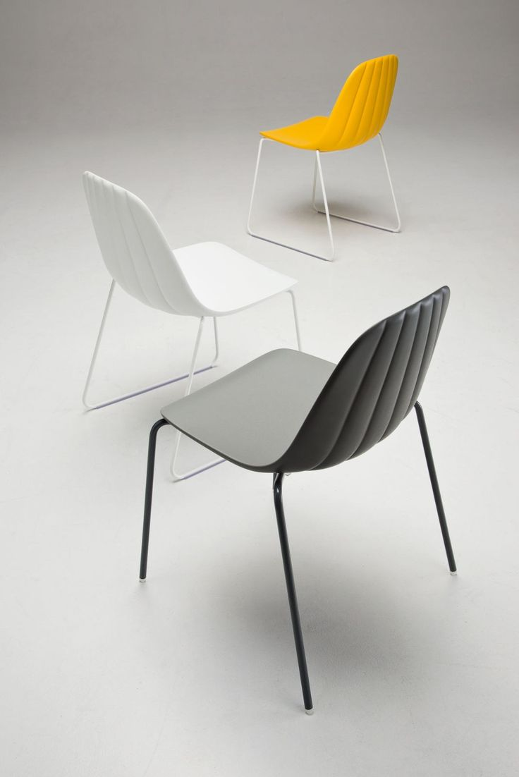 BABAH SL Chaise empilable by CHAIRS & MORE design Roberto Paoli