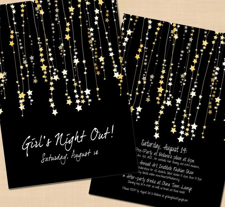 funny bachelorette party sayings for invitations%0A Items similar to Premium Star Streamers Bachelorette Party Invitation    x    on Etsy