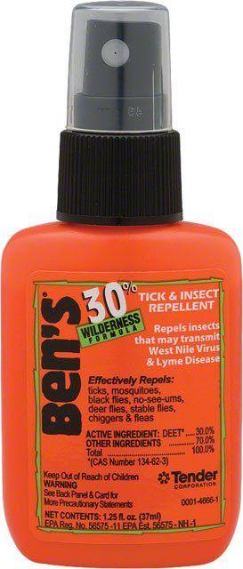 Adventure Medical Kits: Ben's 30% DEET Insect Repellent